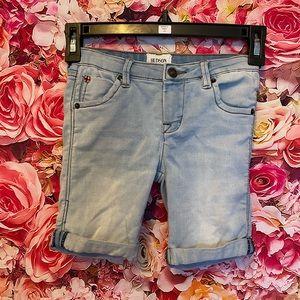 3/$20 Hudson jean shorts size 6